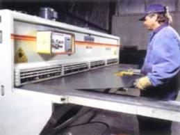 Процесс производства стеллажей компании Интер-Склад